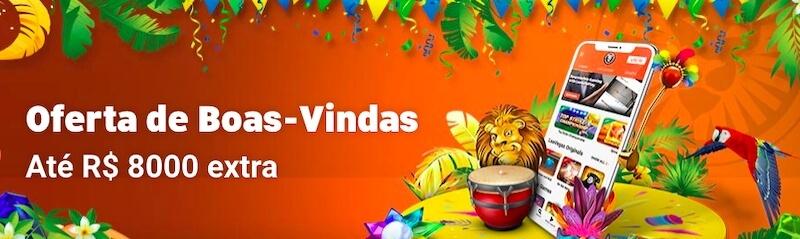 Bonus boas-vindas LeoVegas Brasil