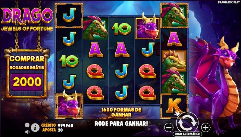 Drago Jewels slot
