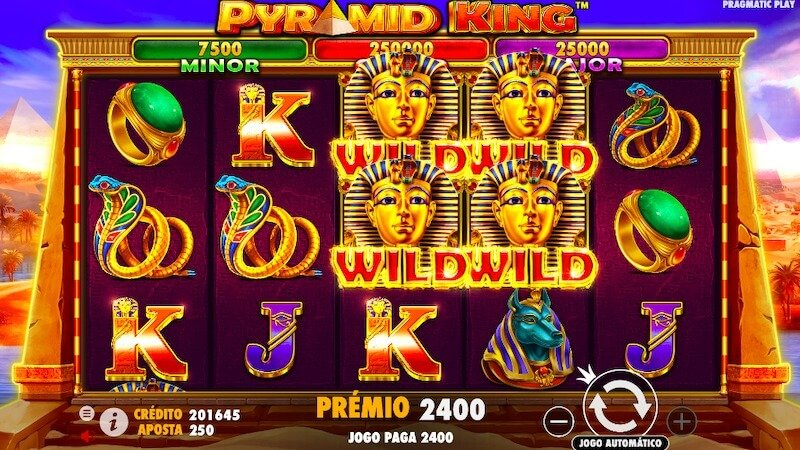 Pyramid King slot